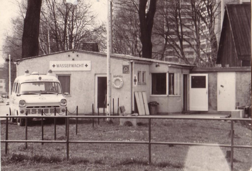 Wasserwachtstation in den 70er Jahren