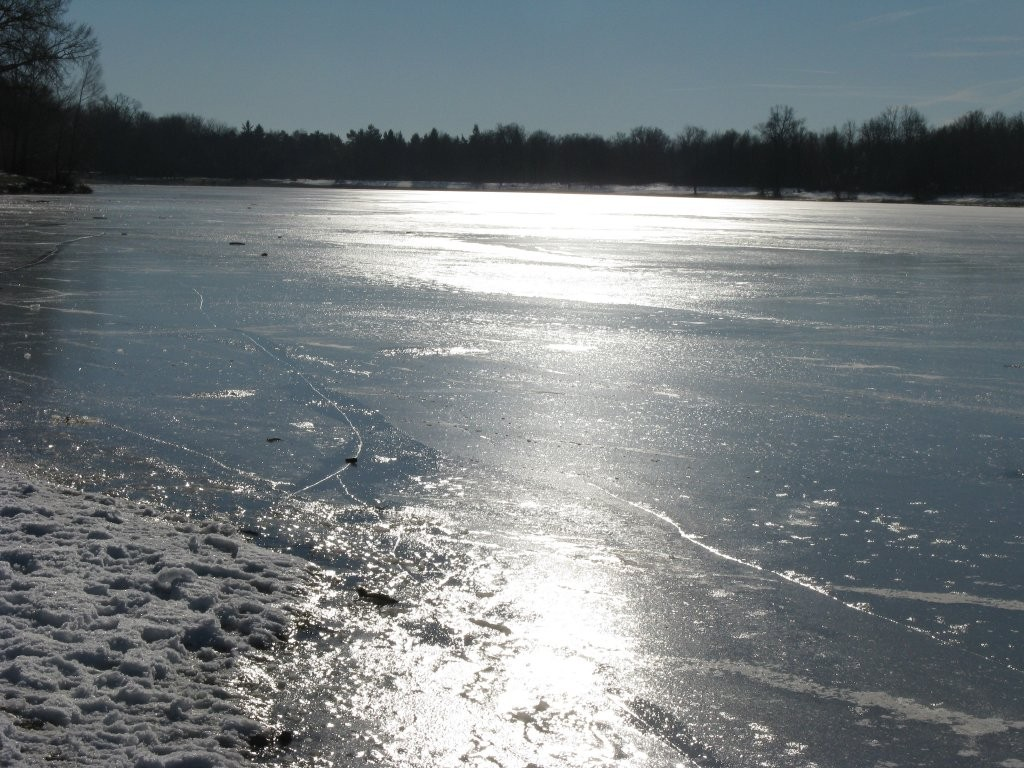 Winterstimmung Kuhsee am 06.01.2015
