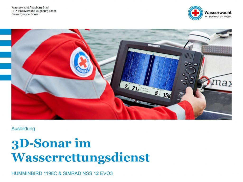 Ausbildung 3D-Sonar im Wasserrettungsdienst